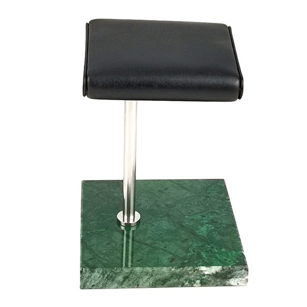 Yeşil Mermer Baz + Gümüş Standı