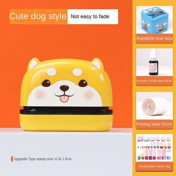 Netter Hund (4.3x 1.3cm) Geschenktasche A