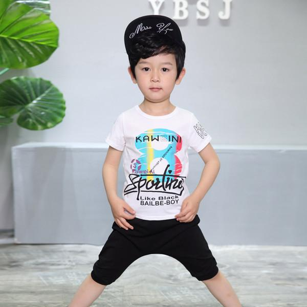 shirt shorts 2pcs A