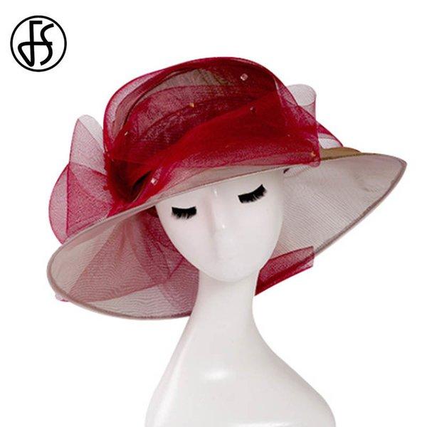Wine Red Sun Hat