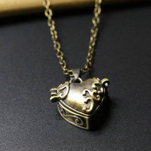 Pendentif Coeur avec 50cm chaîne