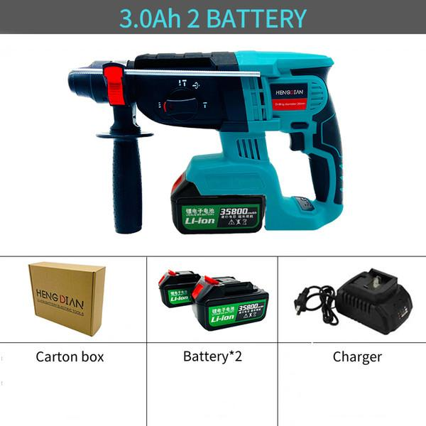 Chine 2 Batterie 3.0Ah CTN