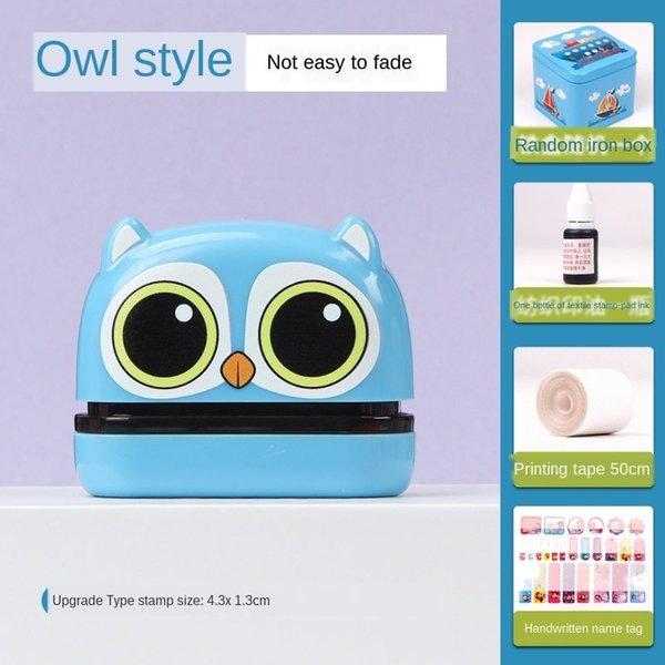 owl (4.3x 1.3cm) Geschenktasche A