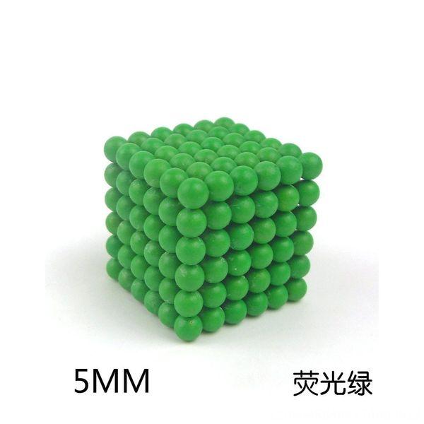 5mm fluorescent green
