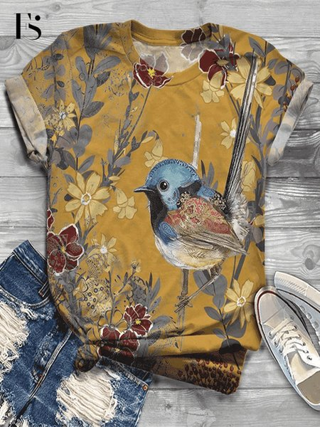 Jaune d'oiseau