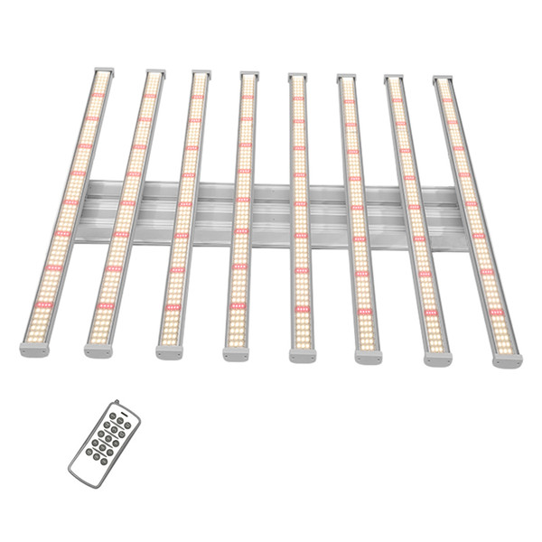 640w 8bars Remote control Dimmable