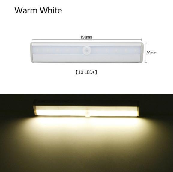 10 leds Warm white