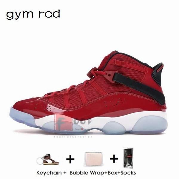 6S- jimnastik kırmızı