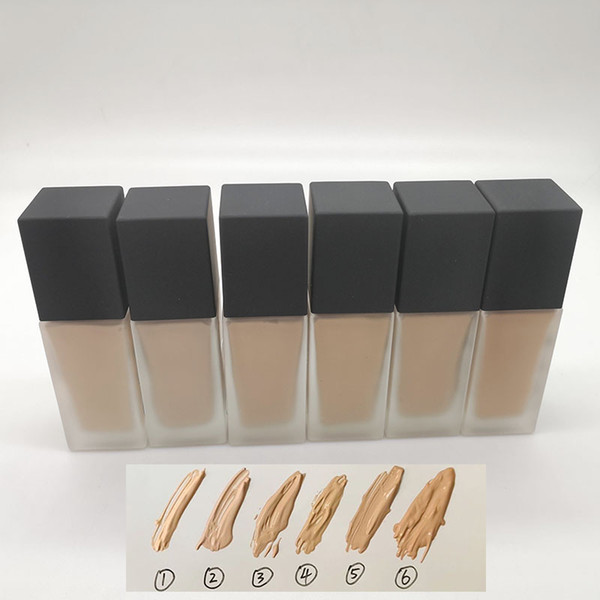 NA R All Day Luminous Weightless Foundation Fluide Leger Longue Tenue Teint Lumineux 6 Colors 30ml Free shipping