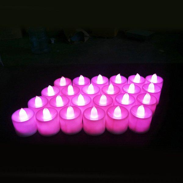 candela bianca rosa chiaro