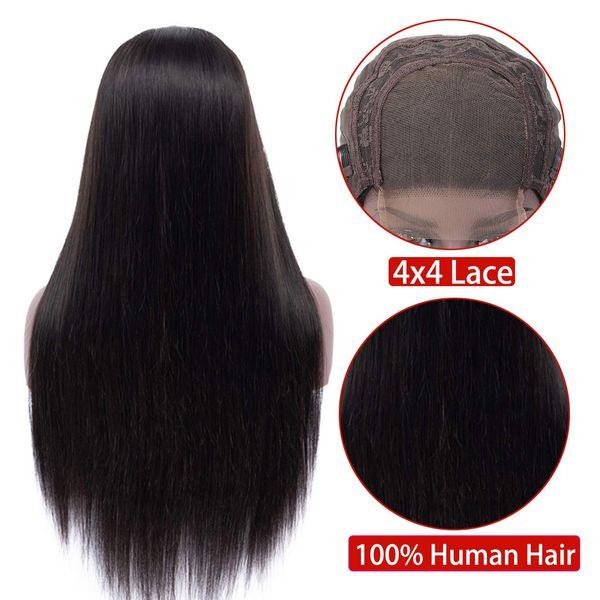 4x4 parrucca Chiusura Lace