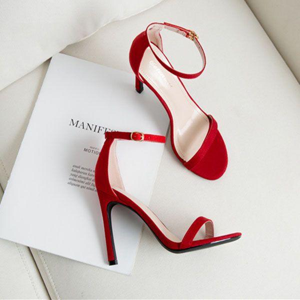 Red Flock 6cm