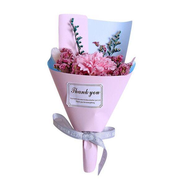 1 clavel rosa