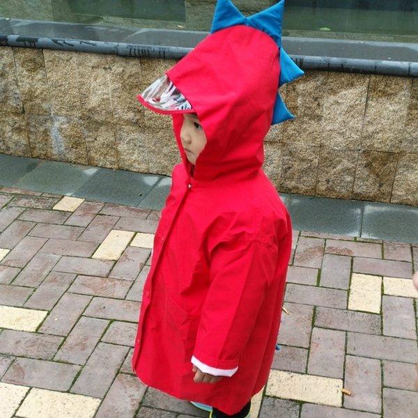 rosso [cerniera versione ispessito] solo pioggia