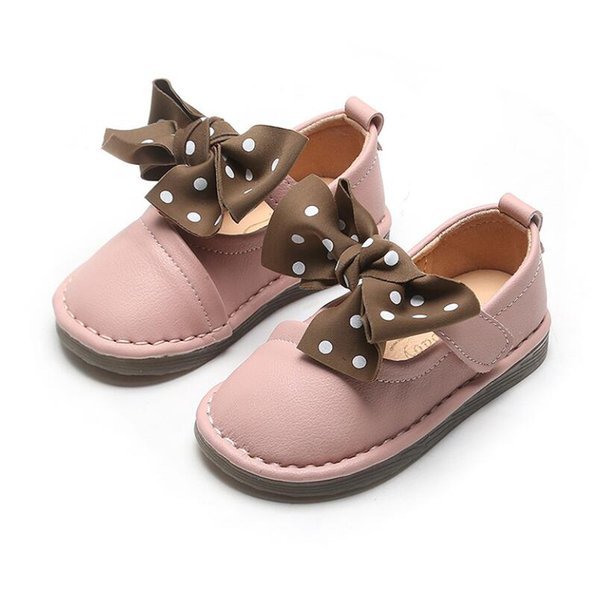 Children England Style Boys Leather Shoes Baby Fashion Sewing Casual Shoes Kids Sandals Girls Soft Sole Sneakers Slip On Shoes