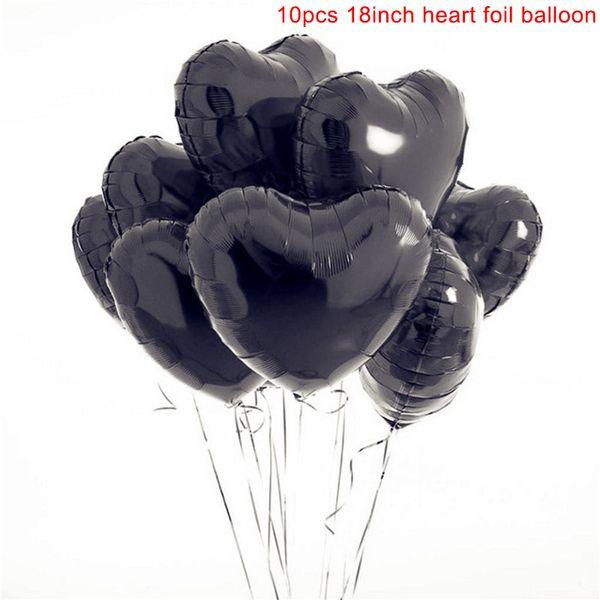 10pcs 검은 색