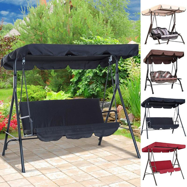 best selling Outdoor Garden Swing Cover Waterproof Swing Cover Dustproof Chair Replacement Canopy Spare Fabric Dust Covers UV Resistant