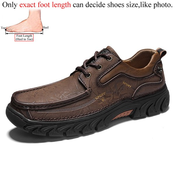 Mens Shoes Top Layer Leather Mens Leather Mens Shoes Mens Shoes Retro Casual Leather Shoes Fashion