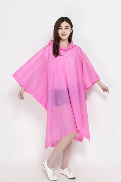 Pink Pullover Poncho-Length 130cm x Widt