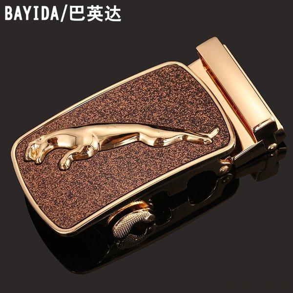 Leopardo de oro con Brown Bottom