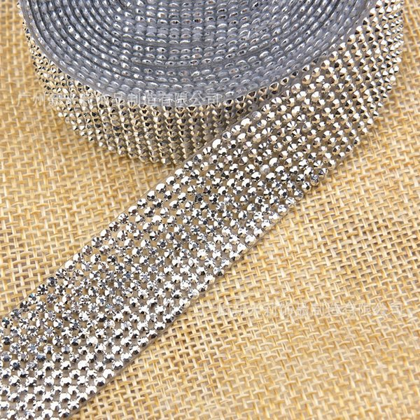 10 rows of 1 meter mine silver (2cm wide