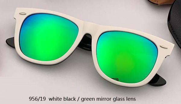 Lente a specchio bianco / verde 954mm 56/19