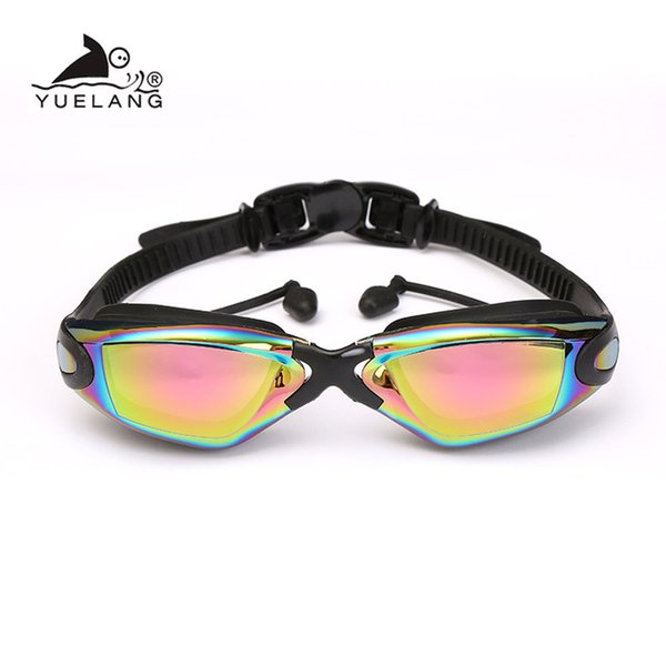 best selling Swim Swim Eyewear Goggles Professional Durable Silicone Swimming Goggles Anti-fog Anti-UV Waterproof adult arena Swimming Glasses colored