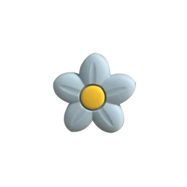 Perline fiore blu