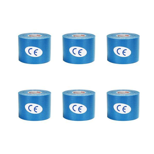 6 Pieces Light Blue