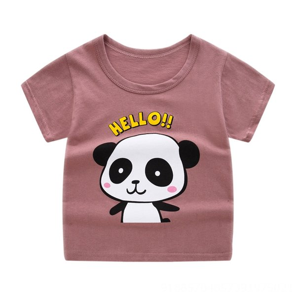 YEL short sleeve = embroidered red panda