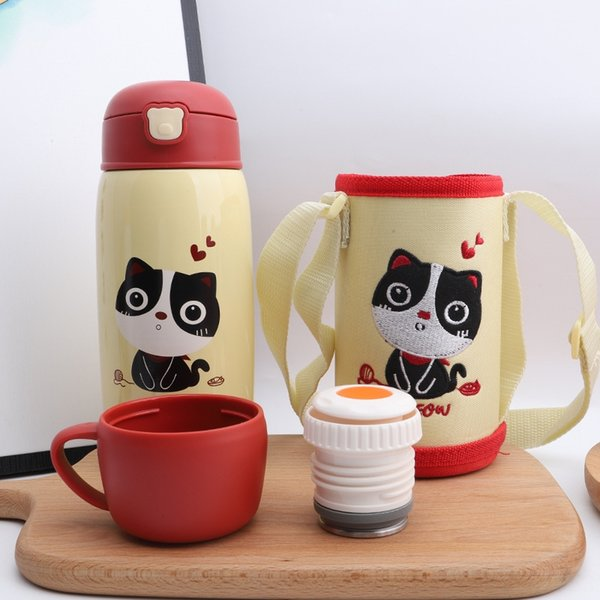 Cute Pet Cup Cover Yellow-Different Styl