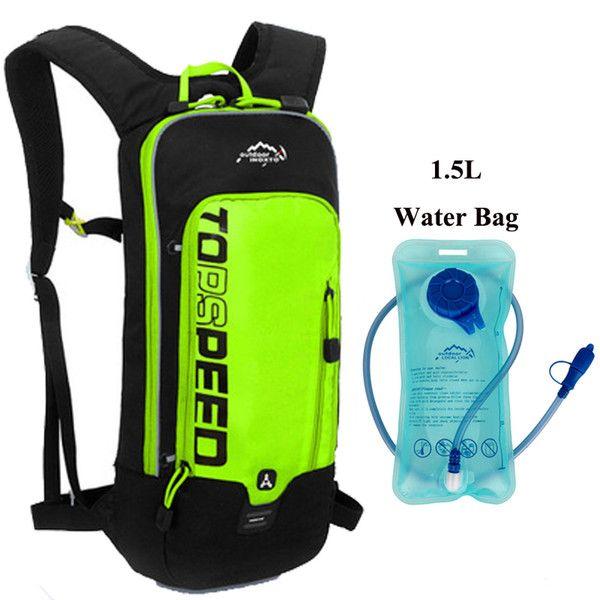 GR con bolsa de agua