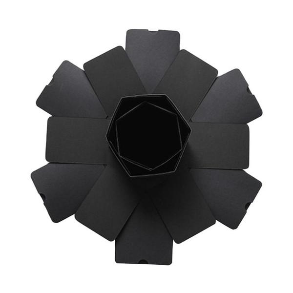 Black hexagon CHINA