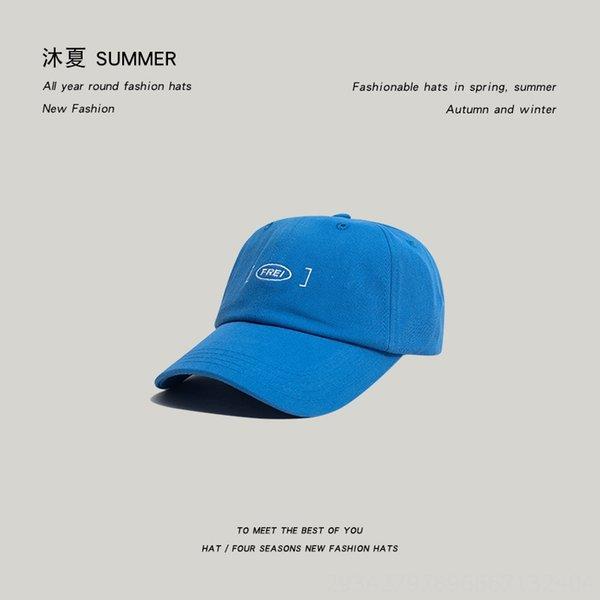Baseball Frei Cap-blue-6 1/2