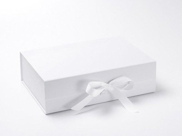 scatola 23x17x7cm bianco personalizzato