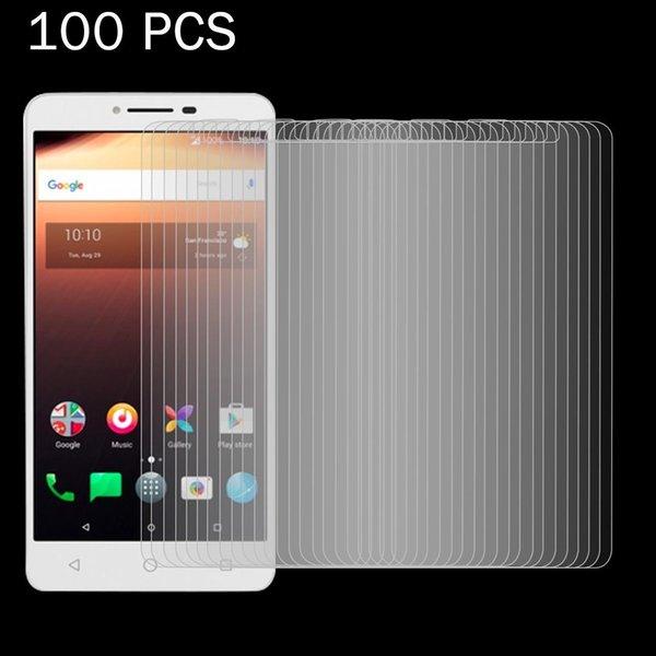 100 PCS für Alcatel A3 XL 0.26mm 9H Surf