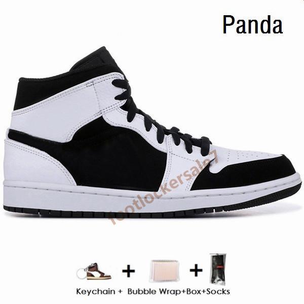 Черный Whtie Panda