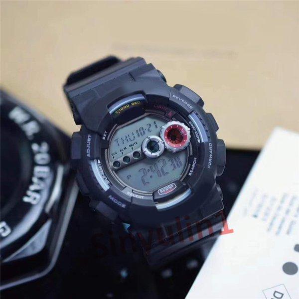 4 black white watch