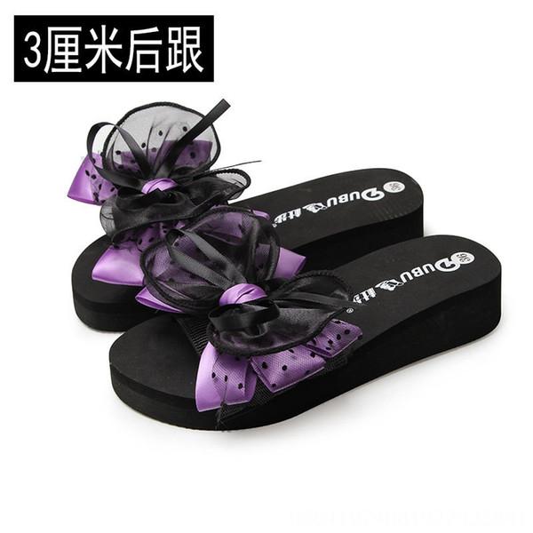 Purple 3cm Heel