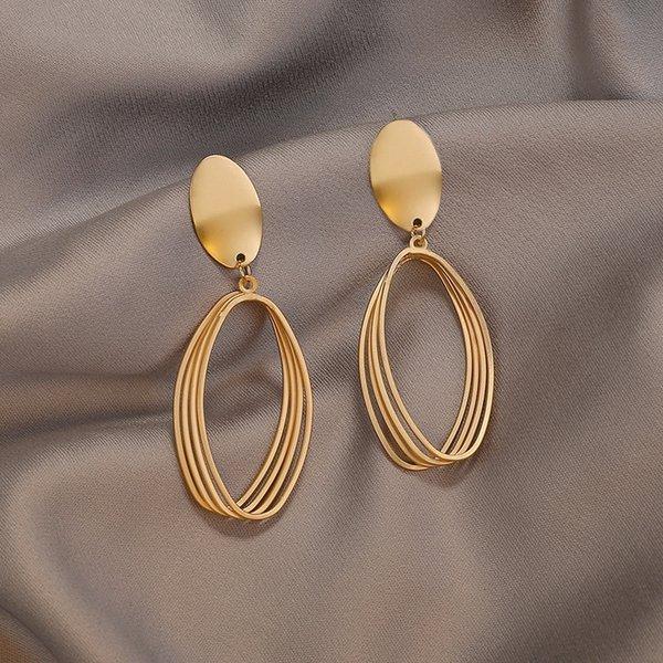 10 # ovale Bague en or