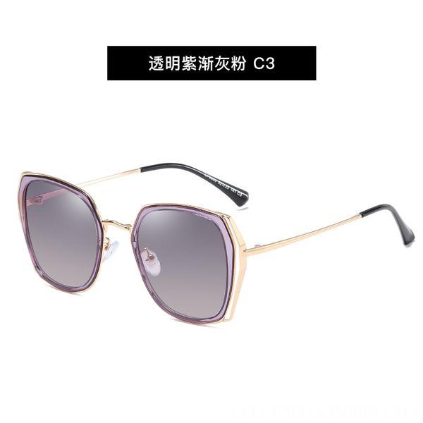 № 3. Прозрачный Фиолетовый Серый порошок С3-С