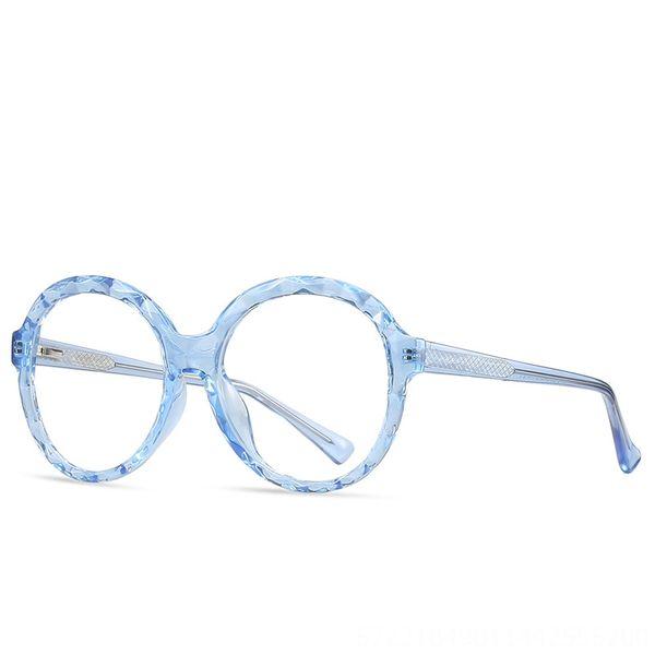 C6-Flat Blue Montatura Lente