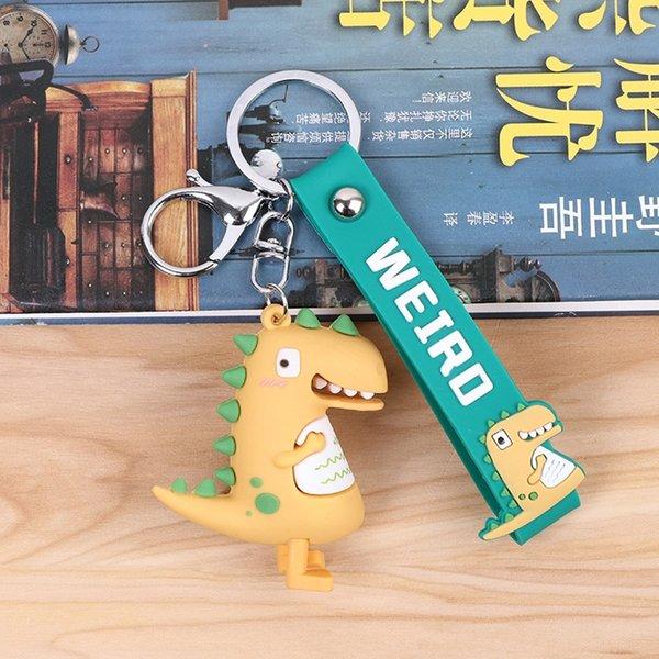 04a2-10 Yellow Dinosaur-Opp saco packagin