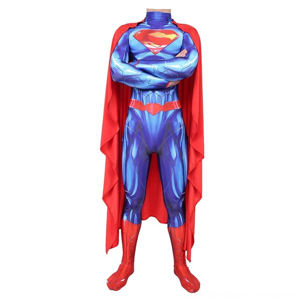 Azul Superman adulto (con Capa)