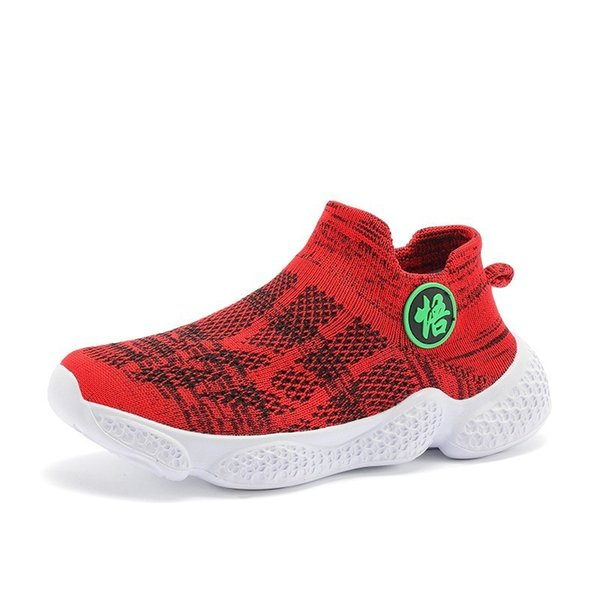 new red sneakers