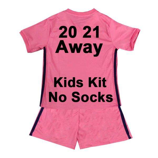 TZ058 2021 Away Kids Kit No Socks