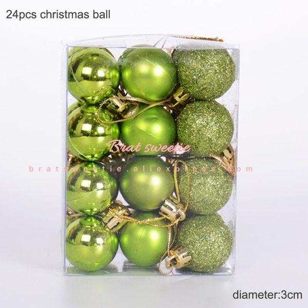 3cm verde palle