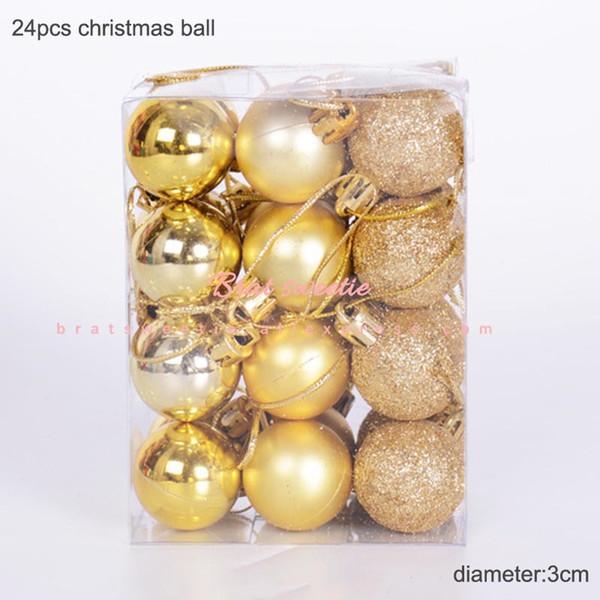 3cm oro Balls