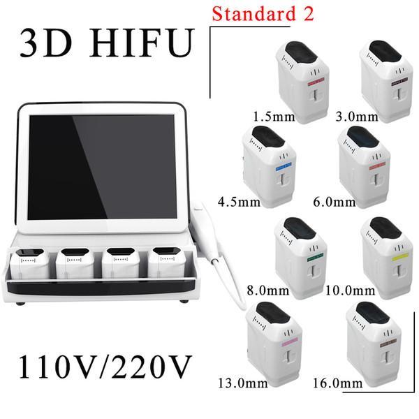 3D HIFU com 8 cartuchos