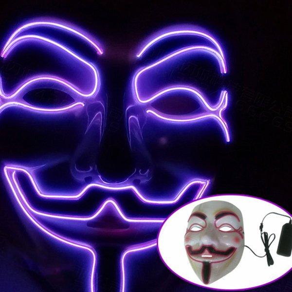 Фиолетовая маска